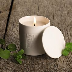 Wild Mint Signature Candle - Candles | The White Company