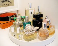 i need to do this with my perfumes!!