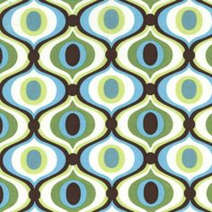 Awesome resource for Vintage Patterned Upholstery and Fabric.  Feeling Groovy, Spa