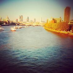 #london #riverthames #southbank #river #thames #tiltshift #summer #iphonography #iphone #photography