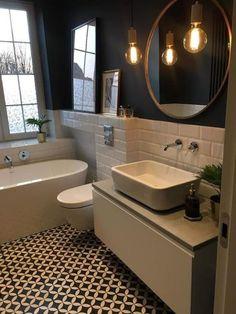 43 Amazing Bathroom With Beautiful Tile Flooring Ideas