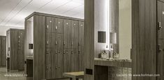 locks on Hollman lockers at Equinox Wood Lockers, Gym Lockers, Office Interior Design, Office Interiors, Athletic Locker, Equinox Gym, Locker Designs, Changing Room, Hospitality Design
