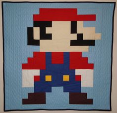 Super Mario by Afton Warrick