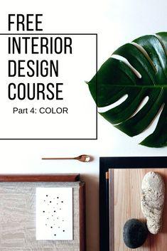 Free Interior Design Course: Color