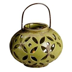 Check out the deal on Green Ceramic Lantern at The Paper Store