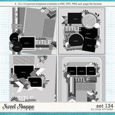 Cindy's Layered Templates - Set 134 by Cindy Schneider