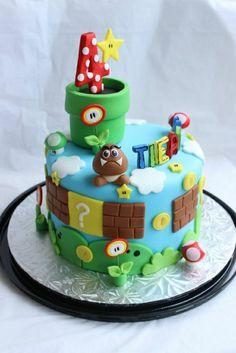 --super mario figuren-super mario bilder-super-mario-charaktere-tolle-torten-bestellen-Super Mario Torte