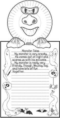 NARRATIVE: Monster Tales - spark students creative writing skills!