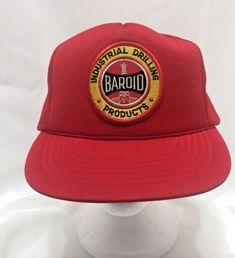 VTG Baroid Hat Drilling Products Gas Oil Baseball Cap Trucker Mesh 26a210730848