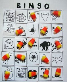 Halloween/Fall Class Party Game Ideas