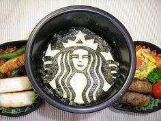 Starbucks Kyaraben Bento Lunch