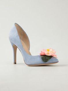 57b9c0e3c Charlotte Olympia SS 2015 Floral Pumps Estilo De Sapatos, Sapatos De Noiva,  Sapatos Importados