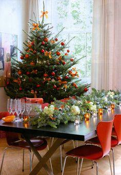 orange decorations