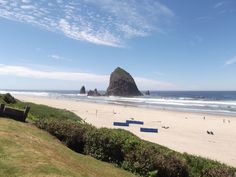You should be here today. #beach #oregon #sunshine #cannonbeach