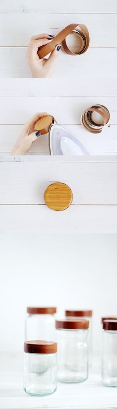 Here are some beautiful storage containers you can make yourself | DunnDIY.com | #inspiration