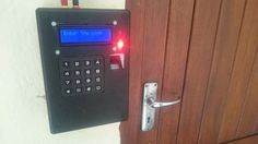 stop cancer Arduino Fingerprint Door Lock (with Keypad and LCD)