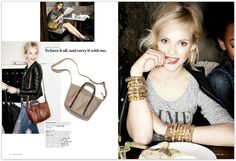Coliena Rentmeester photographs Nordstrom Fall 2013 Accessories.  Capture by Versatile Studios.