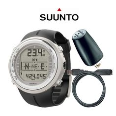 SUUNTO D9TX, The world's first all-in-one wristop trimix dive computer.