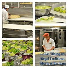 Behind the Scenes: Cruise Dining on Liberty of the Seas #SeasTheDay @Royal Caribbean International