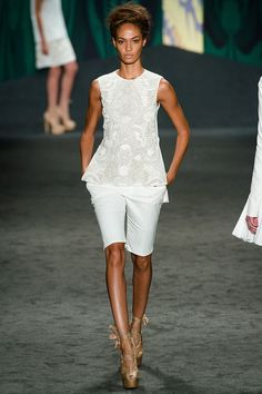 """""""Strongest collection we've seen from Vera in a few seasons."""" Vera Wang Spring 2013 RTW"""