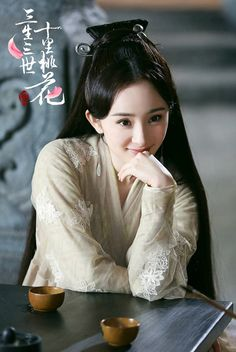 Nothing short of beautiful for Yang Mi's Peach Blossom stills Traditional Fashion, Traditional Outfits, Xiao Li, Eternal Love Drama, Ancient Beauty, Peach Blossoms, Chinese Clothing, Chinese Actress, Chinese Culture
