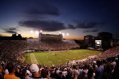 Vanderbilt Stadium is home to the Vanderbilt University Commodores football team in Nashville, Tennessee. #SEC