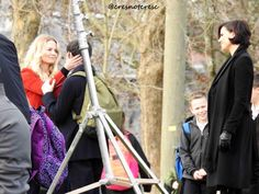 Jennifer Morrison Jared Gilmore and Lana Parrilla Swanqueen Once Upon A Time