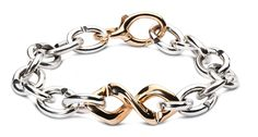 DNA bracelet in bronze & silver | X Jewellery | #xjewellery #silver #bronze #jewelry #strongandfree | xjewellery.com