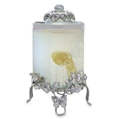 Arthur Court Designs Butterfly 2 1/2-Gallon Beverage Server - BedBathandBeyond.com