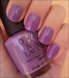 OPI A Grape Fit (I just painted my nails this color.... its soooo pretty)