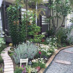 9 Beautiful Backyard Ideas for Small Yards – Garden Ideas 101 Small Back Gardens, Small Backyard Gardens, Outdoor Gardens, Backyard Ideas For Small Yards, Small Backyard Design, Garden Design, Garden Borders, Garden Paths, Garden Landscaping