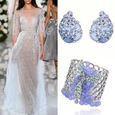 «Valentin Yudashkin  Chopard  #fashion #highfashion #stylefashion #style #styles #LFW #nyfw #mbfw #jewelry #jewellery #diamonds #earring…»