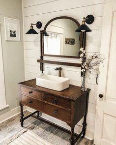 Diy Bathroom Vanity, Diy Bathroom Decor, Bathroom Styling, Bathroom Interior, Bathroom Ideas, Vanity Decor, Vanity Ideas, Bathroom Organization, Bathroom Cabinets