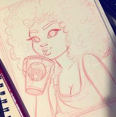 Cartoon Drawings 迪 pin: Girl Drawing Sketches, Pencil Art Drawings, Cartoon Drawings, Cartoon Art, Cute Drawings, Girl Drawings, Christina Lorre Drawings, Character Art, Character Design
