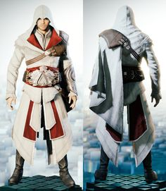 In Assassin's Creed: Unity, Arno Dorian could alter his outfit in order to suit his needs. He could virtually do this at any time during his time as an Assassin in Paris. Obtained through collecting all the artifacts in the Helix rifts.