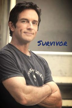 Jeff Probst the dimples, just like me xxx The Tribe Has Spoken, Pretty People, Beautiful People, Jeff Probst, Survivor Show, 50 And Fabulous, Tv Presenters, Pretty Men, Celebs