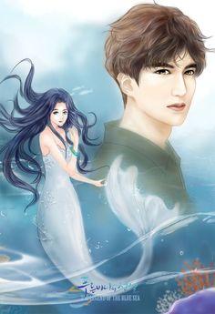 """The Legend of the Blue sea"" Fanart Legend Of The Blue Sea Kdrama, Legend Of Blue Sea, Korean Art, Korean Drama, Legend Of The Blue Sea Wallpaper, Goblin, Chibi, Lee Min Ho Kdrama, Lee Min Ho Photos"