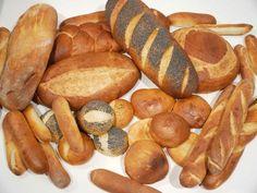 Lebensmittel & Getränke 10 Stück 1/12 Skaladollhouse Miniature Bäckerei Brot Schinken Brot