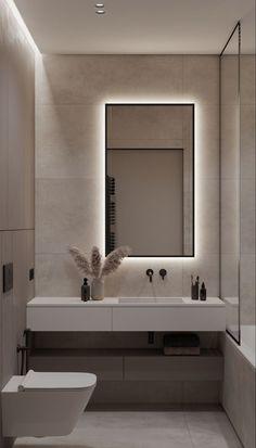 Washroom Design, Bathroom Design Luxury, Modern Bathroom Design, Luxury Bathrooms, Toilet And Bathroom Design, Small Toilet Design, Small Full Bathroom, Small Shower Room, Small Bathroom Interior
