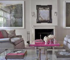 Elissa Cullman Upper East Side Townhouse Living Room