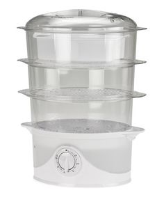 Food Steamer by Kalorik...why do I need 3 separate levels to steam my food???  Why not!!