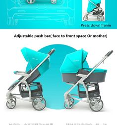 Luxury Baby Stroller 3 IN 1 | www.babyliscious.com Shipping Packaging, Baby Gear, Baby Strollers, Luxury, Children, Bathroom Ideas, Baby Prams, Young Children, Boys