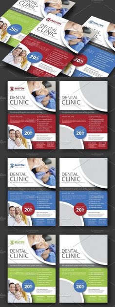 Dental Clinic Flyer Template  Flyer Template Clinic And Dental