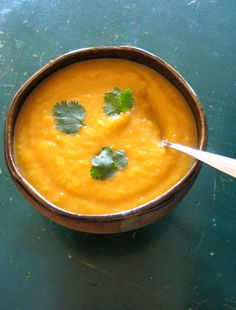 #Recipe: Curried Squash and Apple Soup.