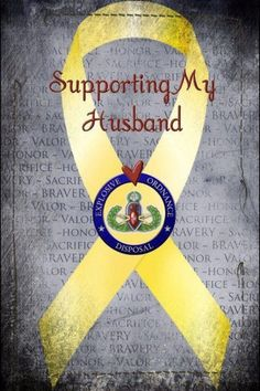 Proud EOD wife