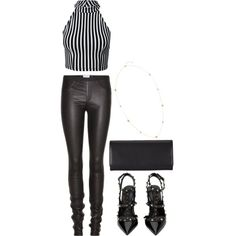 Stripping Out by hernamewaslily on Polyvore featuring Kiss The Sky, Helmut Lang, Valentino, Comme des Garçons and H&M