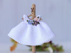 Crochet ropa barbie Kelly 4 pulgadas muñeca ropa crochet