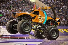 How about taking the family & kids to a Monster Truck Jam. Every girl loves Scooby Doo! Nicole Johnson is Scooby's driver who completed a full backflip. How about Madusa & El Toro? There are lots of cool trucks. I remember Grave Digger 25 yrs ago. Now there are 2 Grave Diggers? Where's Bigfoot? The freestyle is so cool. Take the family & enjoy! Scooby Doo back flips. https://www.youtube.com/watch?v=jJCoftkKMus