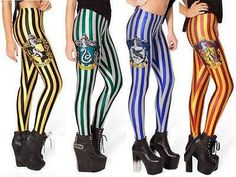 Leggings pants Gryffindor harry potter by GraphicLabStore on Etsy