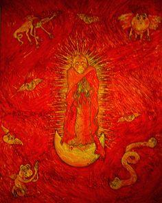 Maria Sabina Dreaming of La Virgen de Guadalupe